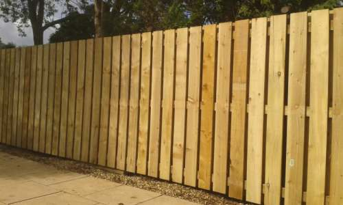 square picket fencing Prestwick Ayrshire