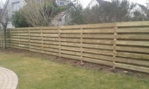 ranch fencing Prestwick Ayrshire